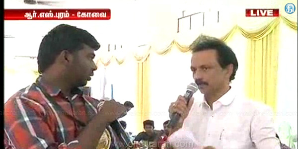 DMK came to power brought about by the Lokayukta: Stalin confirmed