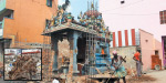 Elimination of the oldest trees in the vicinity of the temple expansion korukkuppettai