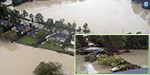 The unprecedented rains in the United States: 14 persons dead; Washed away roads, bridges