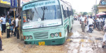 Government caught the bus into the ditch dug for drinking water works: the impact of heavy traffic