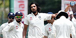 Ishant Sharma bowling awesome: Sri Lanka all out for 201; India Glitch in 2nd innings