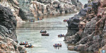Hogenakkal water at least: coracle ride removal of the ban excited tourists