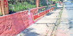 work to cleanse the city wall destroyed the jayalalitha poster