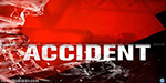 The girl died on the bike and lorry collide near metavakkam: father, daughter survived