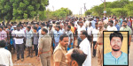 Friends close to the police investigation, and intersect the barrage of scary young men Gummidipoondi