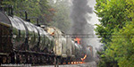 Chemical train accident
