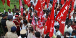 CITU protests govt's decision to partly invest PF in share market