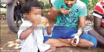 sendation video released in watsapp : gave alcohol for 4 year old child