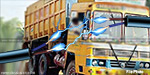 Rivers made disaster : High-voltage wire fell on the truck, driver dead