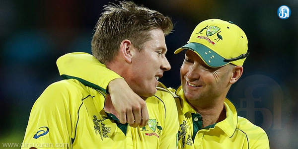 The inspiration was created when we lost to New Zealand: Michael Clarke