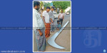 Karuppana Swami patinettampati 18 ft sickle Thanks giving