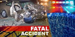 Student killed on the bike and car collide