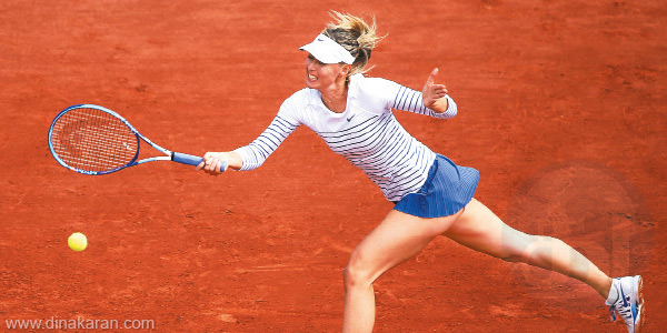 French Open: Sharapova in the 3rd round; Sania, Paes couples Progress