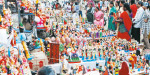 Navratri Festival will start on the 13th: sale of building trowel