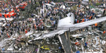 More bodies recovered after military C-130 plane crashes in Indonesian city