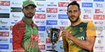 Bangladesh clash with South Africa in the first Twenty20 match