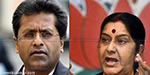 Lalit Modi issue a statement in the Rajya Sabha Sushma Congress Report illegal
