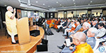 The only way to solve issues : Modi of the Hindu-Buddhist symposium