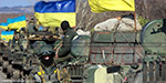 Ukraine withdrew troops and rebels and  left village