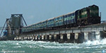 Madurai-Rameswaram Passenger train on the Pamban bridge, 'sound tribute' to Abdul Kalam