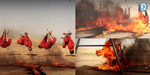 4 prisoners chained upside down and then savagely burned to death in Iraq
