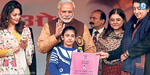 Prime Minister is begging you to save lives of girl child and educate her, says Modi