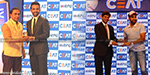 Classy middle order batsman Ajinkya Rahane on Monday won the CEAT Indian Cricketer of the Year award
