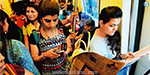 Delhi Metro trains travel on 3,000 men and women in the penalty box