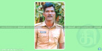 Attempted suicide by policeman shot himself with a gun near Pondicherry