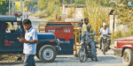 Tatri assassination: beef in the streets; The tension in the villages of UP