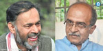 AAP splits: Bhushan, Yadav out of executive