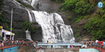 Tourists low in Courtallam