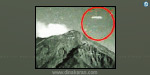 near the Mexico volcanic eruption, Mystery spacecraft sensation, Aliens monitoring Earth ?