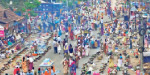 35 million women do pongal in the temple by the river pakavatiyamman