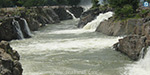 Rain in the Cauvery catchment area: 23,000 cubic feet of water rises in Hogenakkal