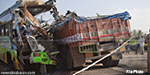 Bus-truck collide crash: 25 killed in Madhya Pradesh, awful