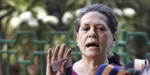 Congress members suspend from loksabha in the day is black day for democracy: Sonia Gandhi