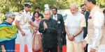 President went to home and gave Bharat Ratna award to Vajpayee