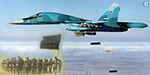 200 militants were killed in fighter jets bomb attack, Russia Information