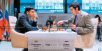Samkir Chess Tournament ended in a draw, Anand-Kramnik match