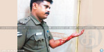 Torture superior sensation: Manali New Town police tried to commit suicide in his hand cut off by Blade