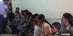 Rail stations through special camp for  recovery 57 children