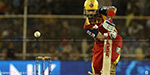 Royal Challengers Bangalore won by 9 wickets against rajasthan