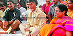 Chandrababu Naidu's wife fracture injury during exercise