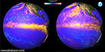 The current El Niño, the 1997 Monster weather system similarity 'stunning' animated images