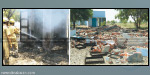 Violent explosion in a fireworks factory near Sivakasi