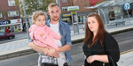 3 year old Baby left stranded after tram doors shut before parents could get off
