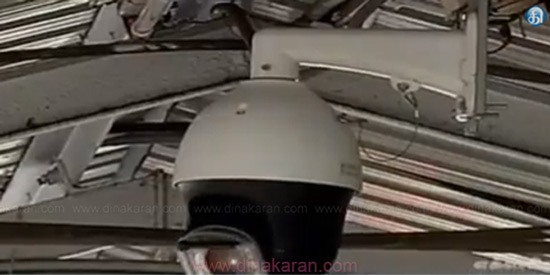 One year after the murder of Swati murder tracking camera in Nungambakkam railway station