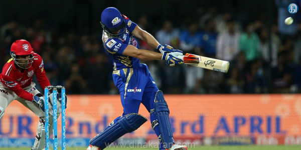 Mumbai Indians defeated Punjab by 8 wickets in the IPL