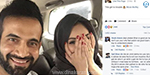 Irfan Pathan, cricketer caught by wife's photograph